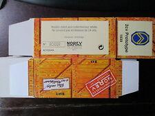 BOITE VIDE NOREV    CITROEN 2CV PROTOTYPE 1939 EMPTY BOX CAJA VACCIA