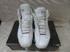 Air Jordan retro XIII 13 Ray Allen PE white clover green 414571-125 PRE-OWNED