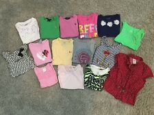 Girls LOT of 15 Shirts Tees Gymboree Circo Polo Under Armour GAP Justice 6/6x 7