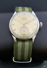 TISSOT WWII 40th MILITARY cal.27 VINTAGE 15J RARE SWISS WATCH.