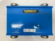 Wesco Steel Dolly Machine Mover 480020 Max Capacity 10000 lb