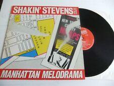 "SHAKIN STEVEN & The Sunsets""Manhattan Melodrama""C.J.S (1982)RECORD EX+ LP"