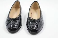 Women's Solid Patent Leather Casual Ballet Flats & Oxfords