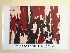"""CLYFFORD STILL ABSTRACT EXPRESSIONIST ORIG LITHOGRAPH PRINT POSTER """"PH 401"""" 1957"""