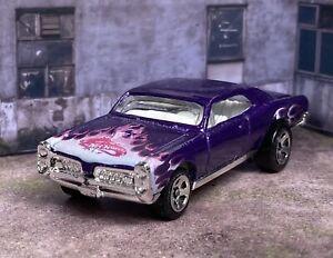 🔥HW Hot Wheels '67 PONTIAC GTO Purple & Pink Flames🔥