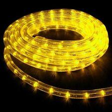 "Yellow Rope Light 30Ft 110V 120V 2-Wire 1/2"" Incandescent Bulbs Flexilight"