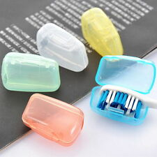 5x Portable Toothbrush head Cover Holder Travel Hiking Camping Brush Cap Case