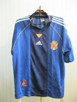 Spain national team 1999/2000 Away Size L Adidas shirt jersey maillot camiseta