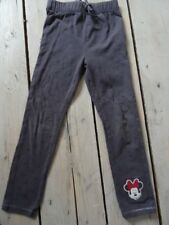 Leggings gris anthracite motif cœurs foncés MINNIE MOUSE DISNEY Taille 5 ans