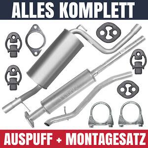 Schalldämpferset Auspuffanlage Auspuff Ford Focus II 2 MK2 1.4 1.6 Kombi