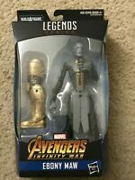 "Marvel Legends 6"" Ebony Maw Avengers Infinity War Sealed Mint Black Order Thanos"