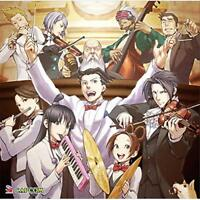 Ace Attorney Gyakuten Saiban MEETS AGAIN Orchestra Jazz Japan Game Music CD NEW