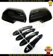 For 2008-2012 Ford Escape Full Glossy Black Mirror+Handle Covers