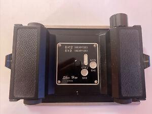 Shen Hao 6x12 Back film holder adaptor for 4x5 Camera
