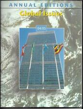 Global Issues 04/05 Annual Editions Edited by Robert M. Jackson (2005)