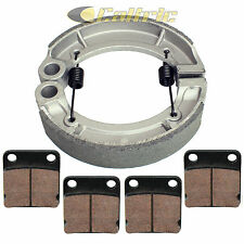 YAMAHA GRIZZLY 350 YFM350 4WD IRS HUNTER 2007-2012 FRONT PADS & REAR BRAKE SHOES