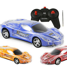 4WD 1/24 RC Remote Control Light Up Racing Car W/ 3D Flashing Lights Drive Toy