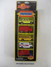 Mega Masters  Set Of 5 City Service  Vehicle Assortment  1:64 New Unopened