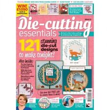 DIE CUTTING ESSENTIALS MAGAZINE ISSUE 32 + FREE WOODLAND FRIENDS DIE & STAMP SET