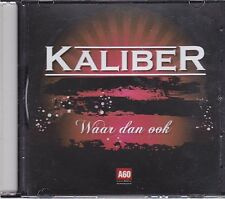 Kaliber-Waar Dan Ook Promo cd single