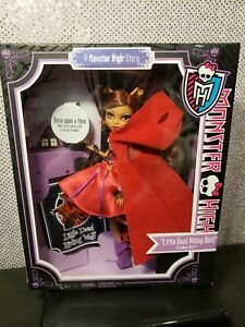 LITTLE DEAD RIDING WOLF A MONSTER HIGH STORY DOLL CLAWDEEN MATTEL X4485 NRFB