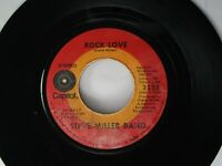 Steve Miller Band Rock Love / Let Me Serve You 45 Capitol 1971