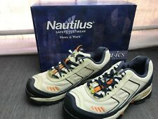 Nautilus Safety Footwear N1375 Womens Athletic Style Shoe Orange/Blue Size: 5.5