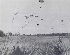 French Foreign Legion Paratroopers Kolwezi Zaire 1978 6x5 Inch Reprint Photo