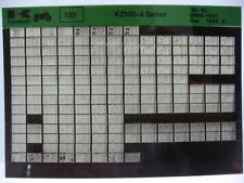 Kawasaki KZ550 1980 - 1983 Parts Microfiche NOS k330