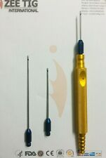 liposuction cannula set for face 5 cannula and Handle,plastic surgery instrument