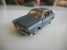 Politoys - M Fiat 850 COupe in Blue on 1:43