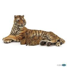 Papo 50156 Lying Lactating Tigress 5 1/8in Wild Animals