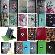 360 Rotating Case Stand Smart Cover Magnetic Wake Up Sleep For Old iPad 3rd 2012