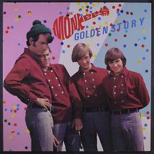 MONKEES: Golden Story LP (Japan, 2 LPs, gatefold cover very sl cw, w/ insert, n