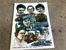 1977 United States Auto Club (USAC) Yearbook