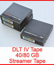 DLT-IV Tape DLT Band Bands 20 40 70 80GB with Invoice 35/70 GB 40/80GB