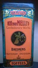 VAN MELLE'S TOFFEES - tin / blikken doos +/- 1910 ?