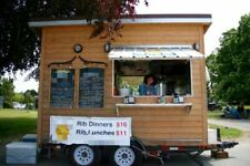 Solar Powered Food Concession Trailer/Used Mobile Kitchen Unit for Sale in Briti