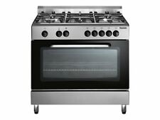 Baumatic BC391 .3 Tcss 90cm Dual Fuel Range Cooker-Stainless Steel