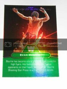 EVAN BOURNE & SNUKA 2010 Topps WWE Platinum Legendary Superstars  Matt Sydal AEW
