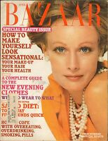 APRIL 1974 vintage HARPERS BAZAAR fashion magazine PAM SUTHERN