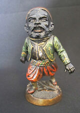 Cast iron made by E.G. Zimmermann, Germany figure 1900-1940 inkwell (#378)