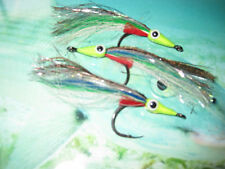 3 V Fly Size 4/0 HDD Point Ultimate RV Abel Keys Anchovy Saltwater Flies