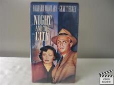 Night and the City VHS Richard Widmark, Gene Tierney