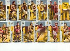 2004 AFL Select Conquest Hawthorn team set