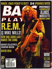 BASS PLAYER Guitar Magazine March 1999 REM Mike Mills Rufus Reid Jonathan Maron