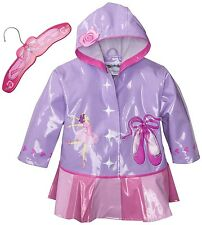 Promo Kidorable Kids Ballerina Extra Small Raincoat Ballet Coat Rain Mac Girls