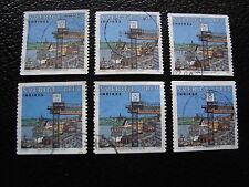 SUEDE - timbre yvert et tellier n° 2077 x6 obl (A29) stamp sweden
