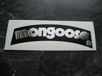 MONGOOSE BMX STICKER OLD SCHOOL BMX MONGOOSE PRO CLASS SEAT STICKER 80S BMX