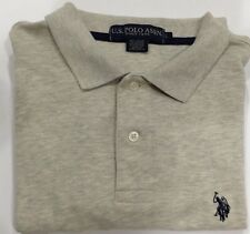 U.S. Polo Assn. Men's Large Short Sleeve Shirt light-gray/beige heather
